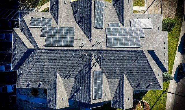 architecture solar panels